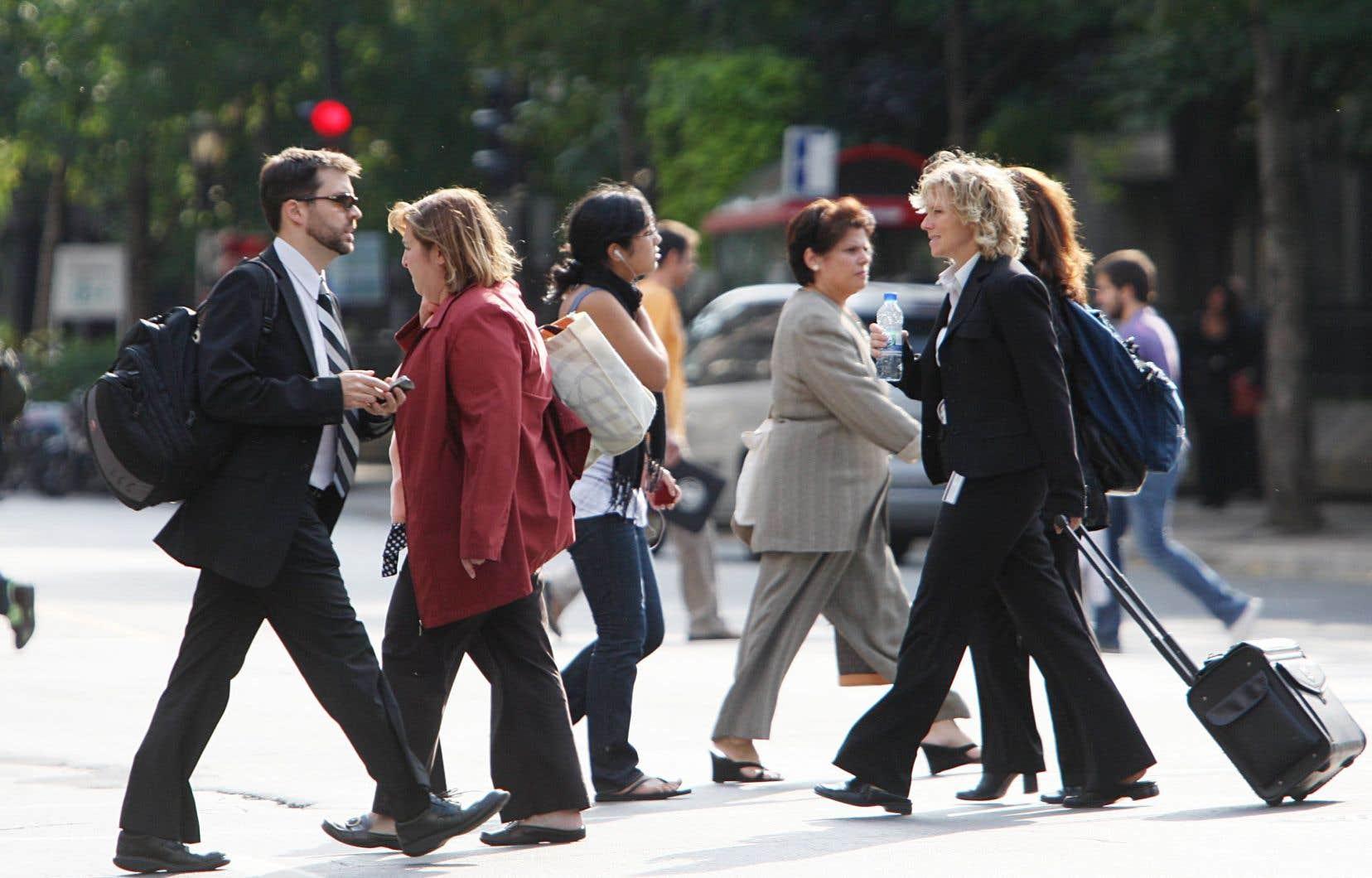 La proportion des femmes âgées de 24 à 54ans sur le marché du travail a explosé, de seulement 22% en 1950 à 82% en 2015.