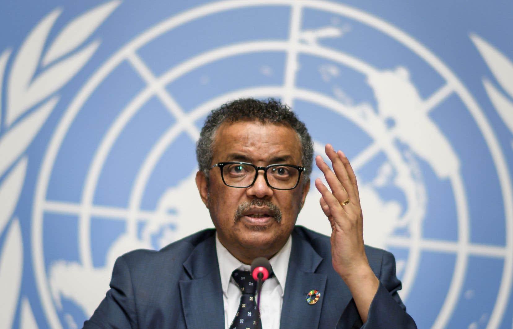 Une réunion avec les neuf pays voisins de la RDC est prévue ces prochains jours, a annoncé le directeur de l'OMS, Tedros Adhanom Ghebreyesus.