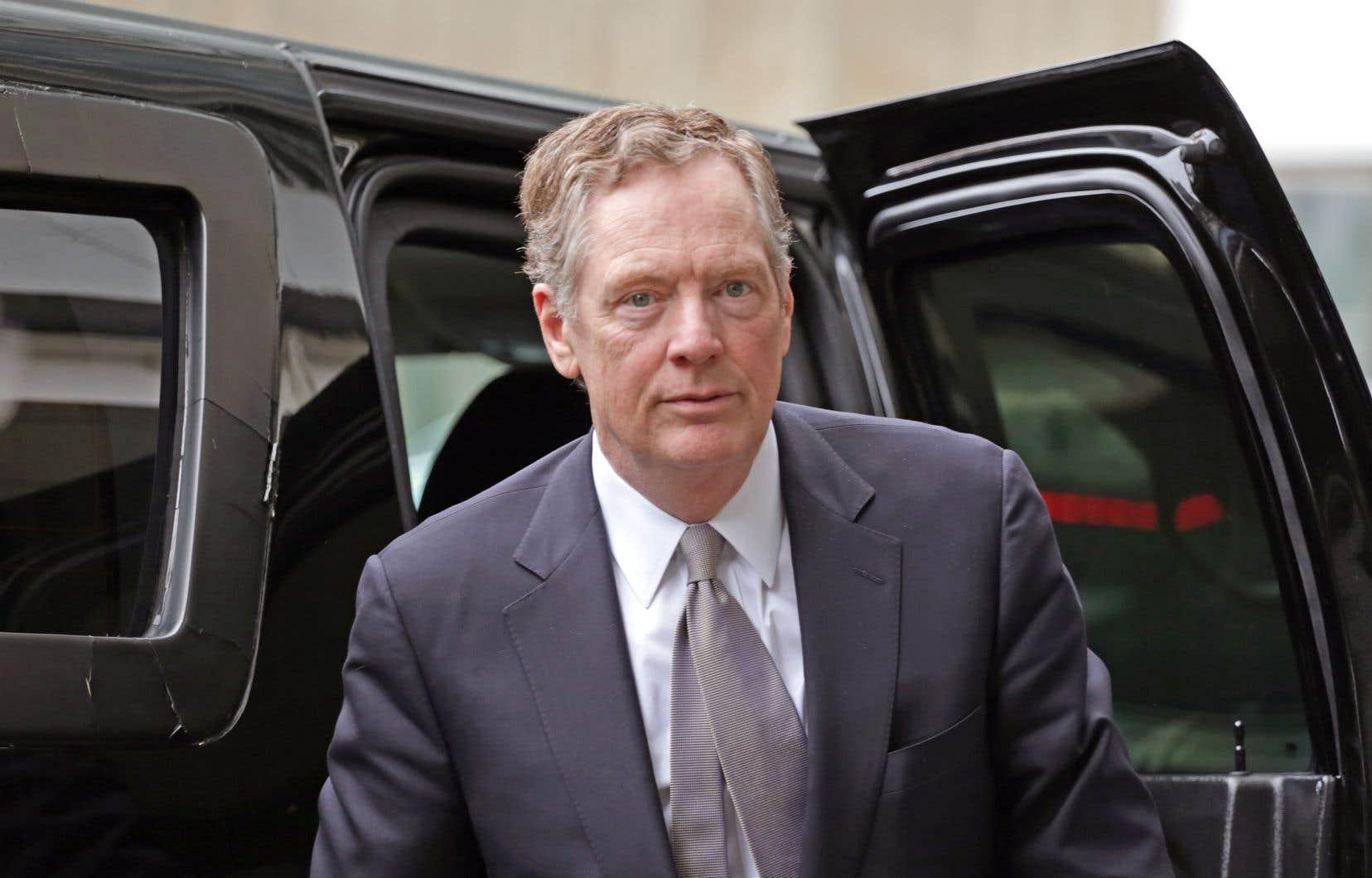 L'un des principaux opposants à un accord rapide est le représentant américain au Commerce, Robert Lighthizer.
