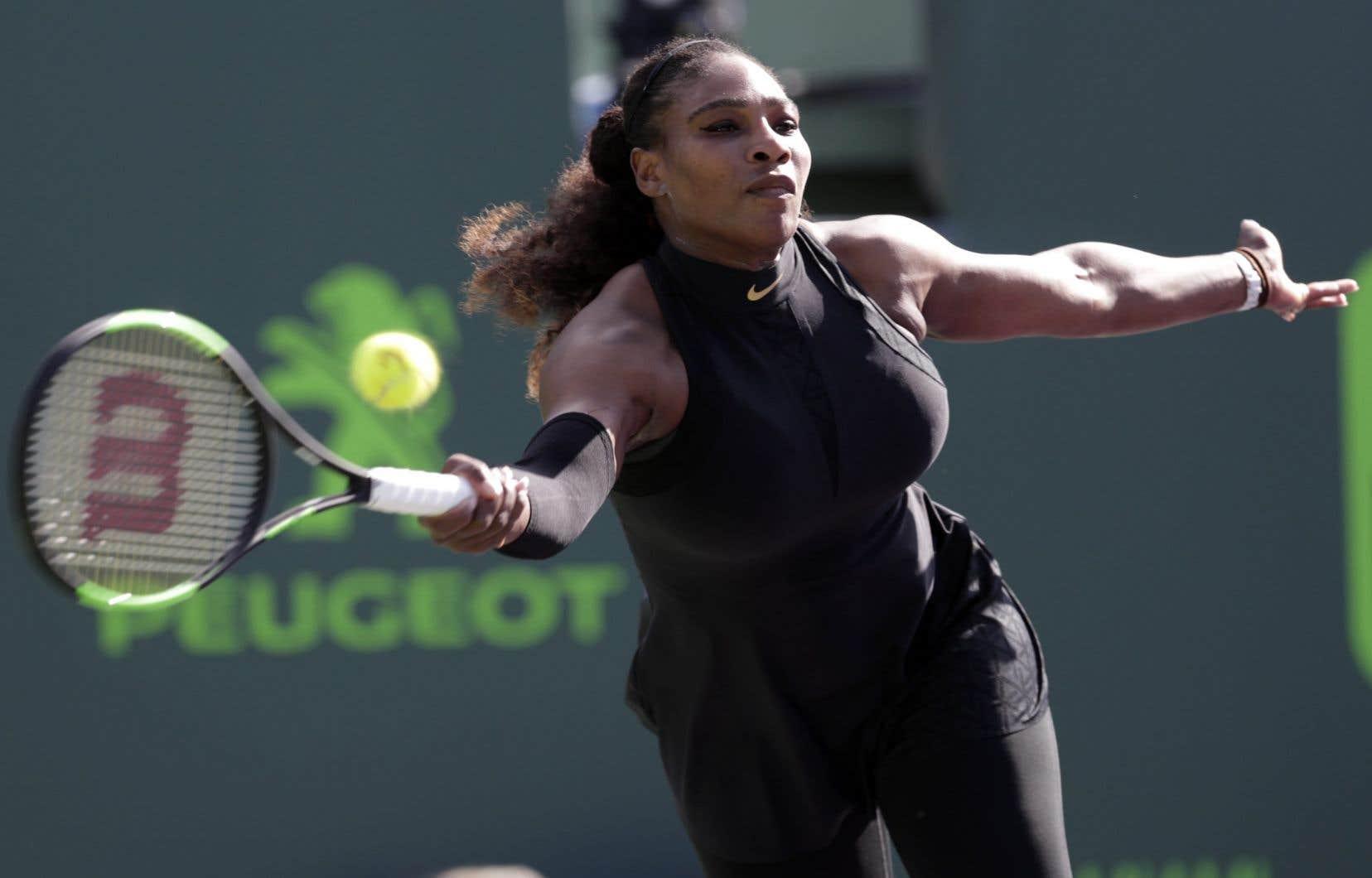 Williams, triple championne à Roland Garros, doit disputer son premier tournoi majeur depuis la naissance de sa fille en septembre.