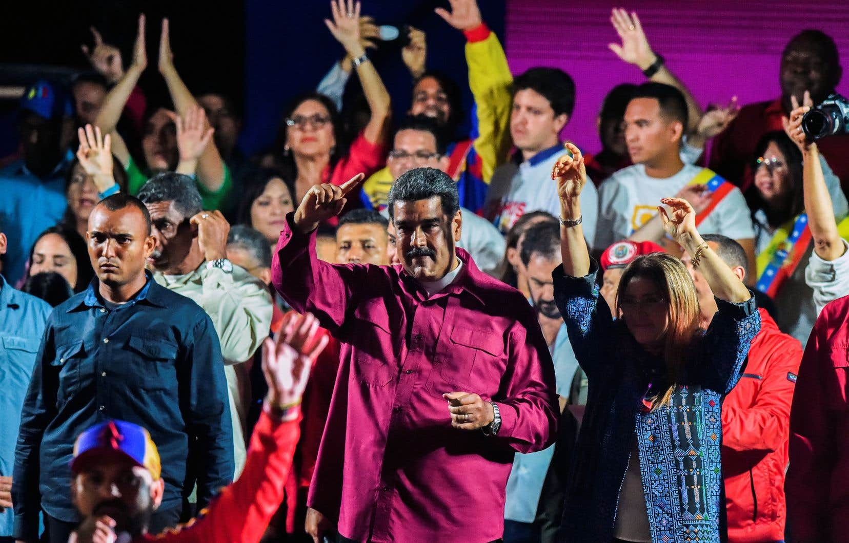 Le scrutin présidentiel, qui a reporté au pouvoir le leader socialiste Nicolas Maduro, a été entaché d'irrégularités, selon l'opposition.