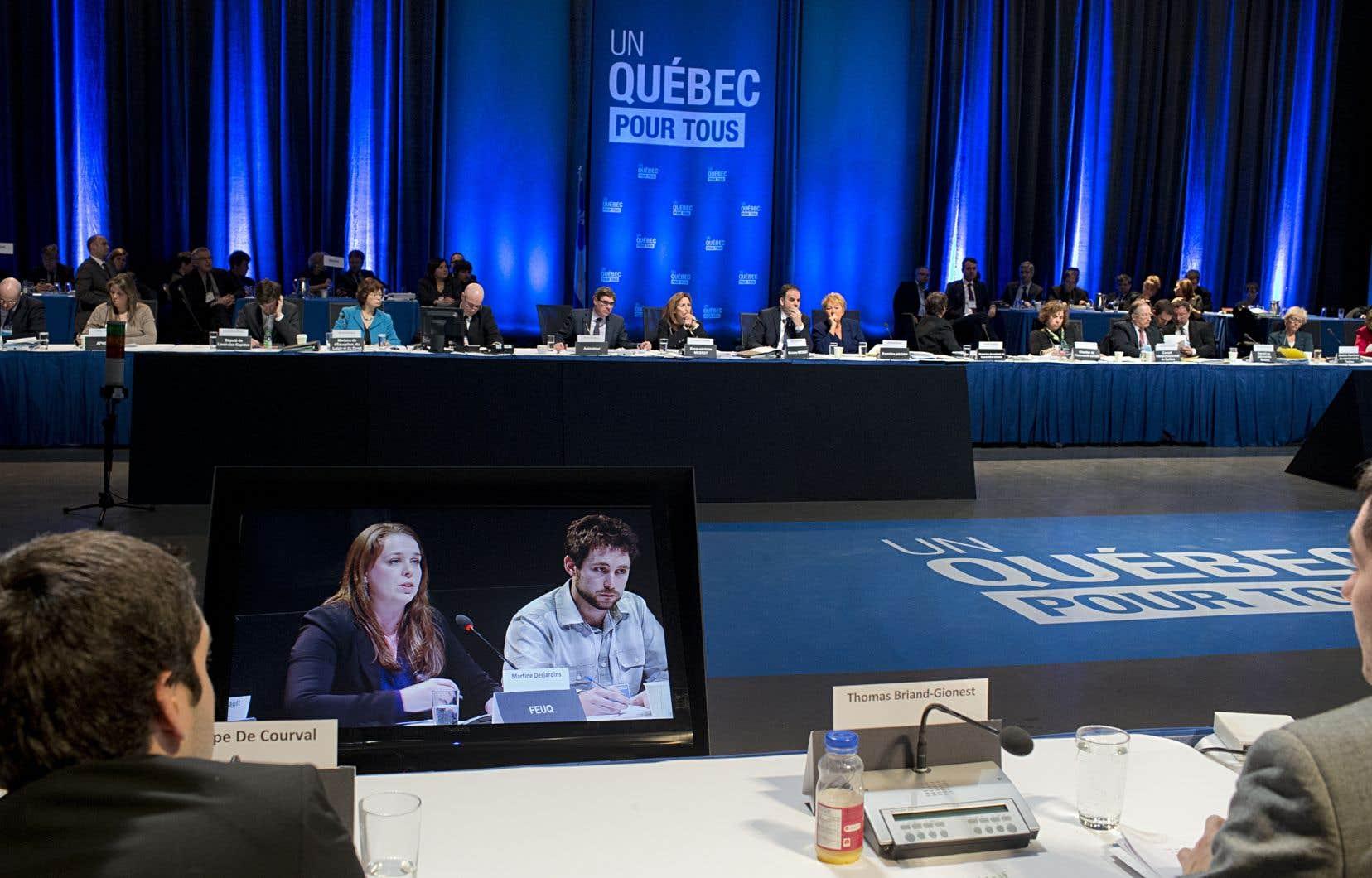 Cinq ans après le Sommet sur l'enseignement, le Conseil national des universités n'a toujours pas vu le jour.