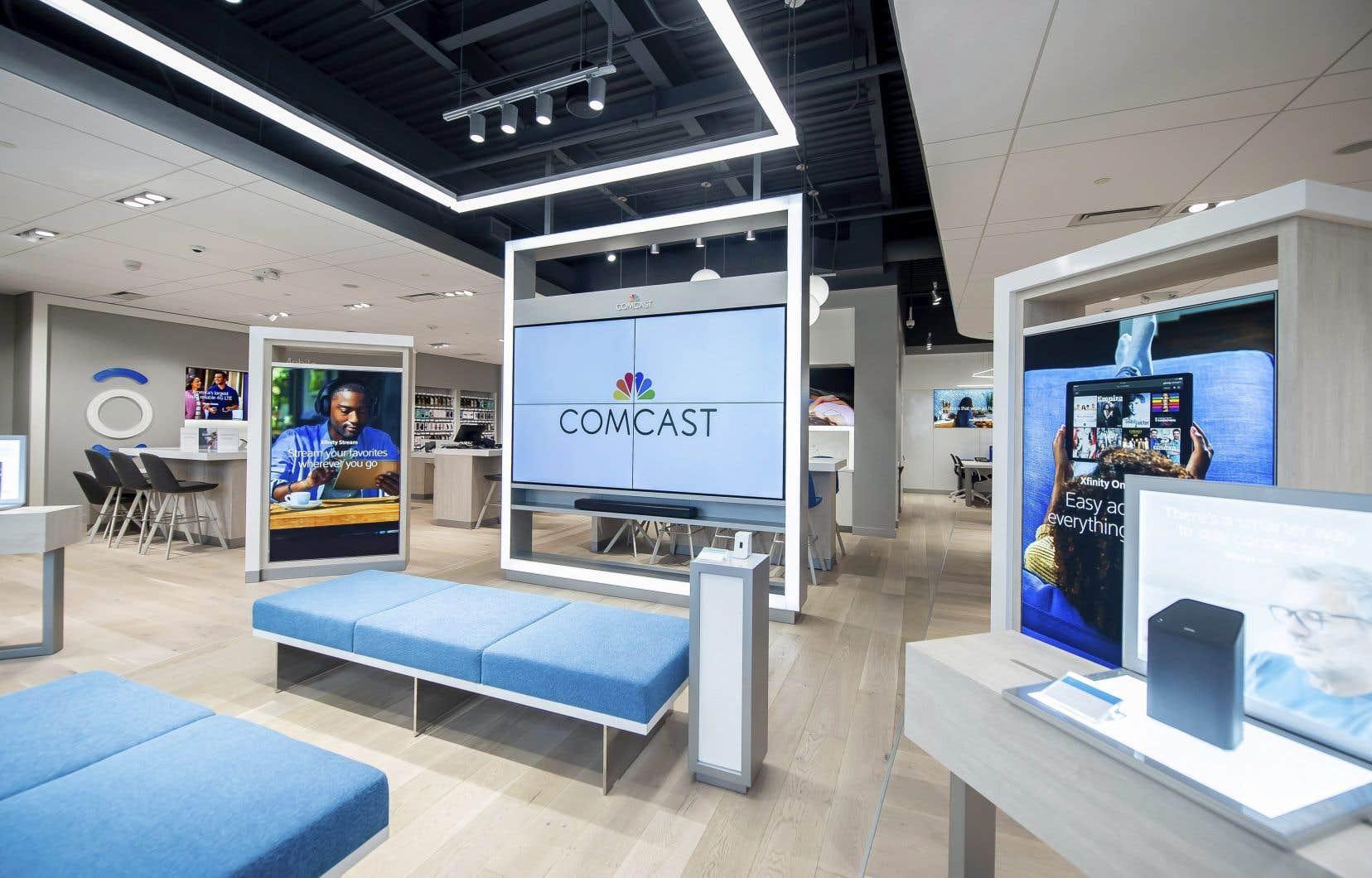 Comcast a également soumis en avril une offre de 22milliards de livres sur Sky pour acquérir les 61% dans le groupe européen de télévision payante.