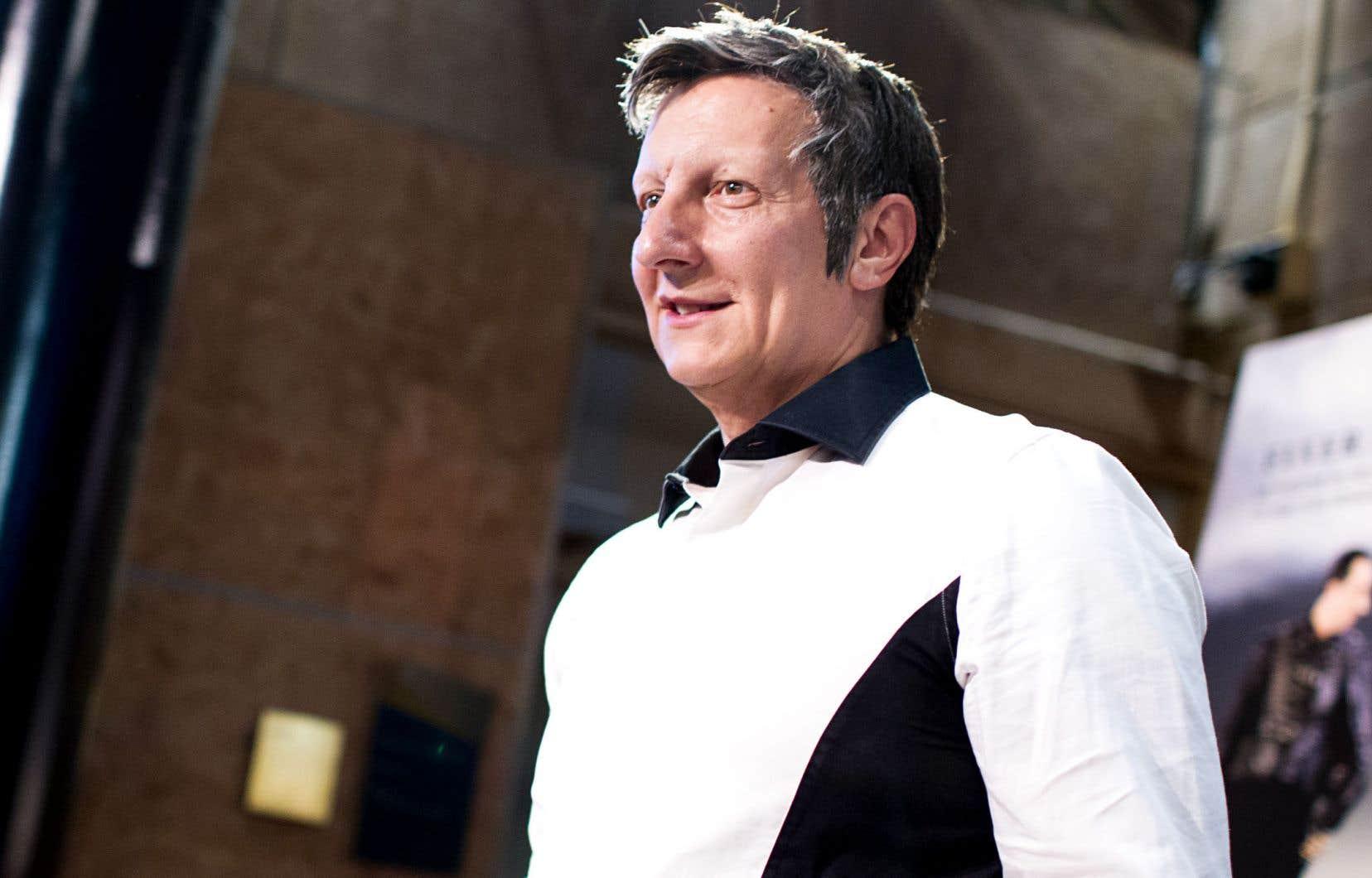Le metteur en scène Robert Lepage