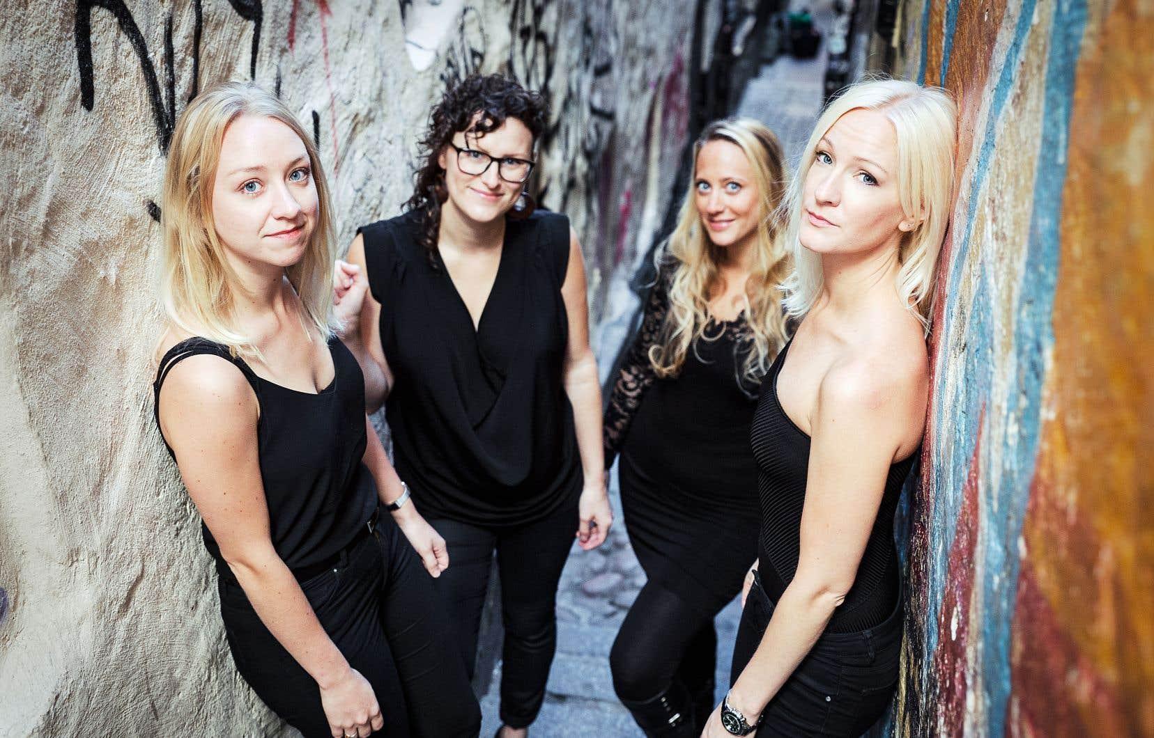 Le quatuor féminin suédois Kongero fera le voyage jusqu'aux abords de la Richelieu.