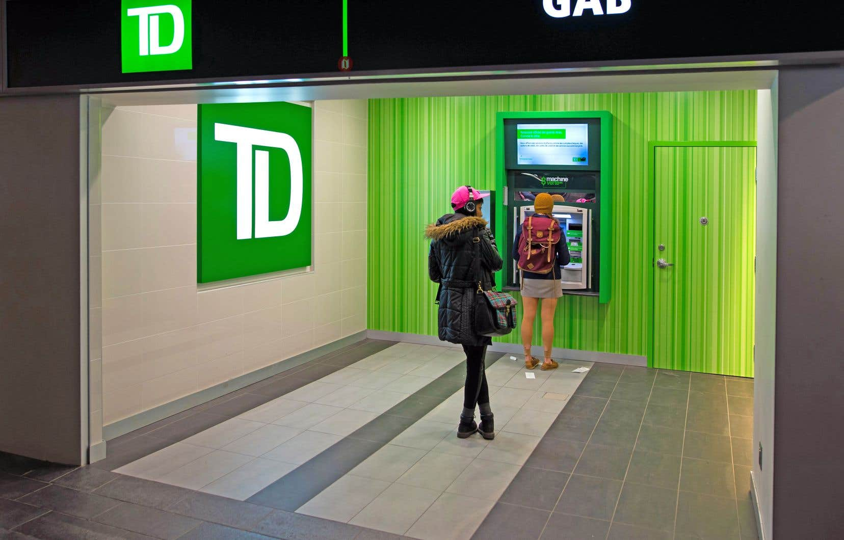 La Banque TD a inscrit un bénéfice net en hausse de plus de 17% pour son deuxième trimestre, par rapport à l'année précédente.