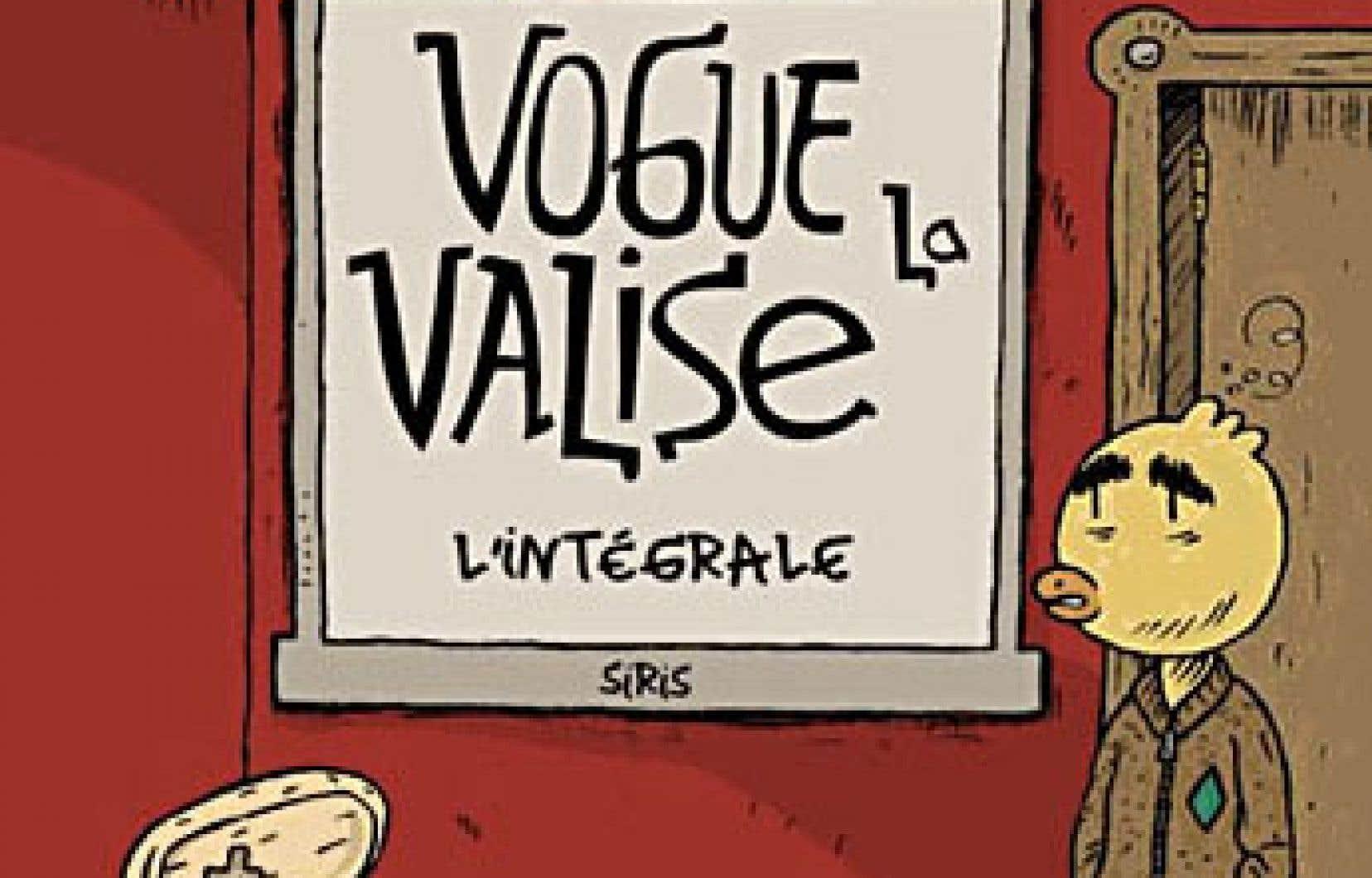 Le bédéiste Siris a publié l'automne dernier l'intégrale de «Vogue la valise», une autofiction qu'il a pris du temps à mener à terme.