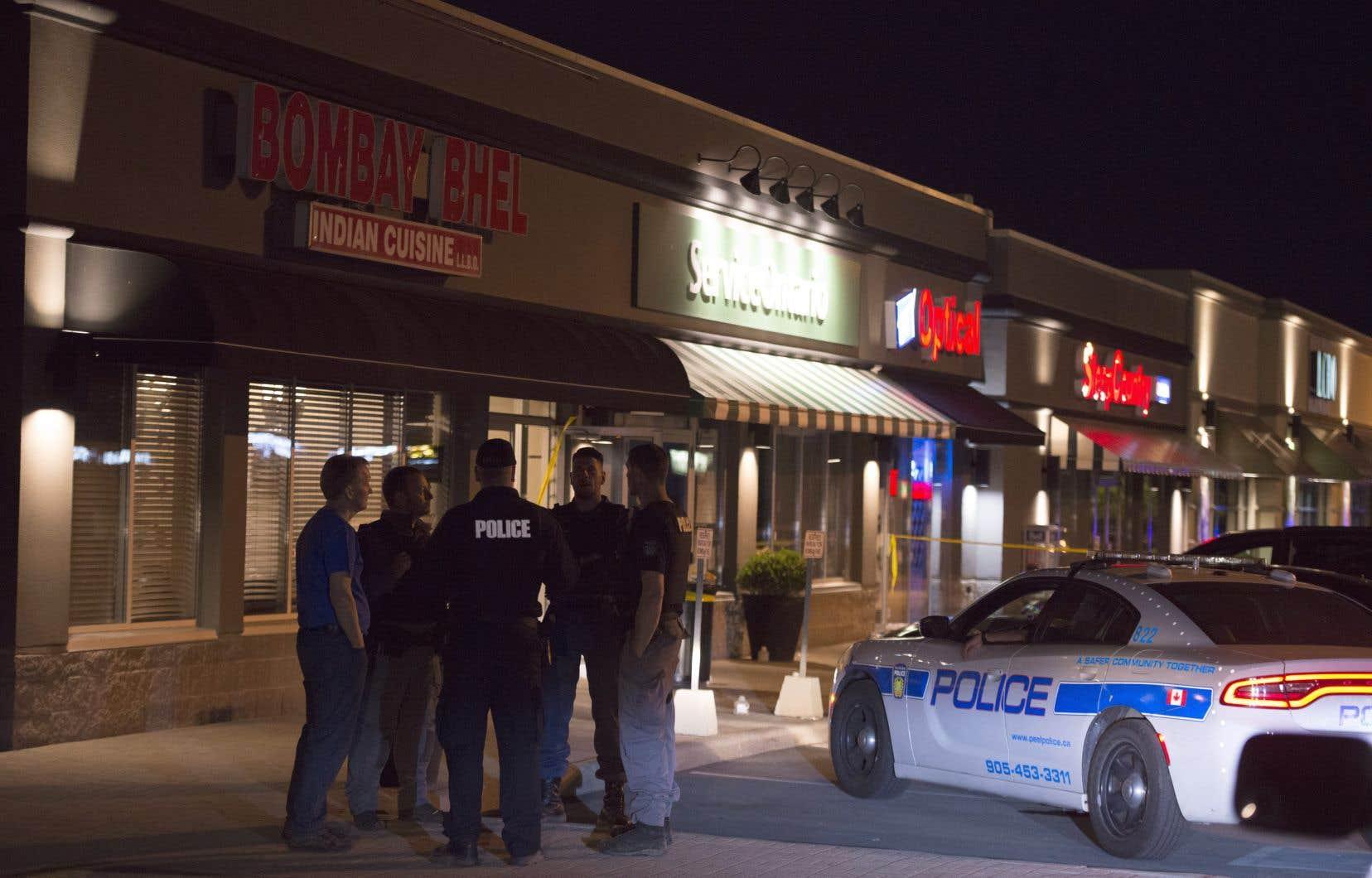 Une explosion a ravagé un restaurant de Mississauga, en Ontario.