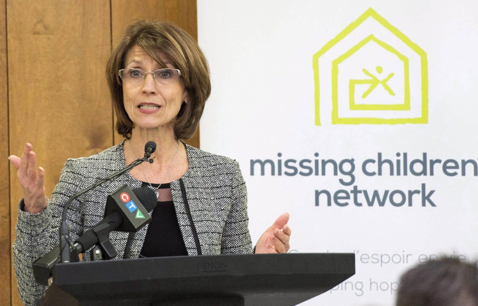 Pina Arcamone, directrice générale du Réseau enfants-retour