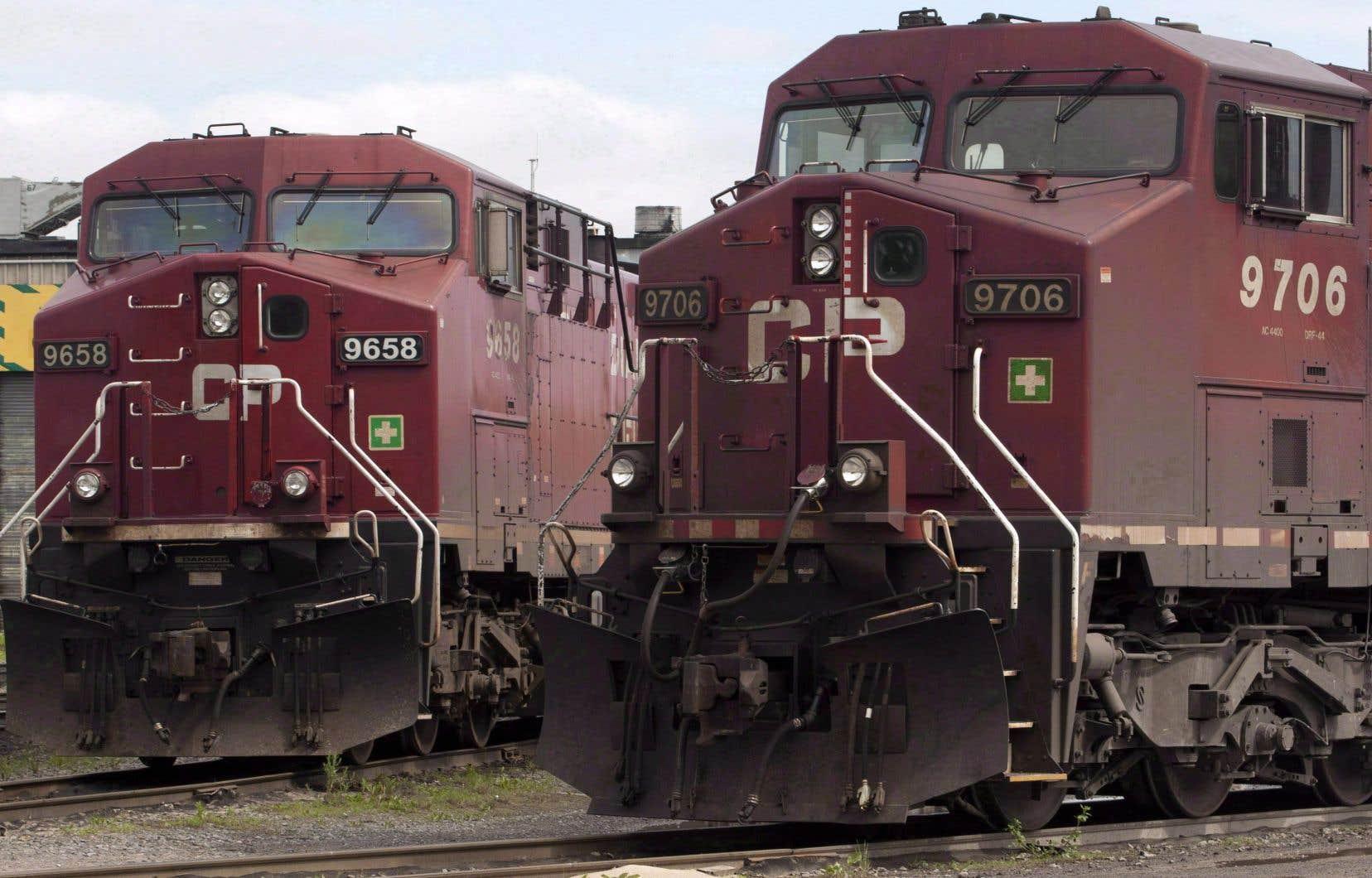 La grève pourrait toucher les chefs de train et les mécaniciens, de même que les travailleurs affectés à l'entretien de la signalisation.