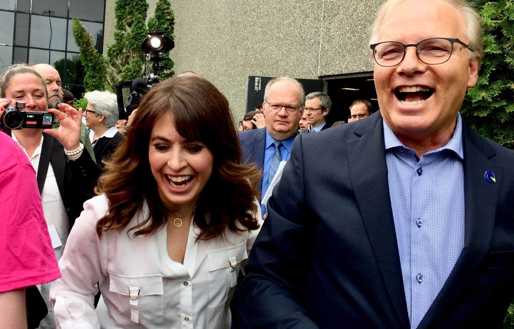 «Un État fort, souple et efficace est une condition indispensable pour éviter une explosion des inégalités. Le Parti québécois en est le garant. Pas la CAQ, pas les libéraux», a fait valoir Jean-François Lisée.