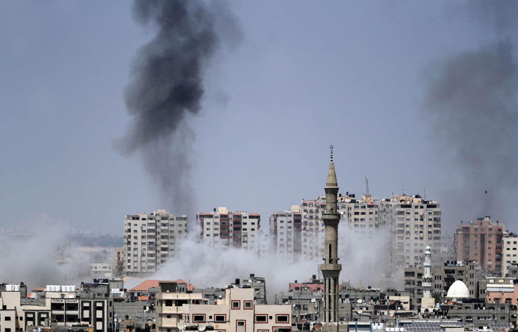 L'armée israélienne a mené mardi une série de frappes dans la bande de Gaza en représailles à des tirs de mortier nourris en provenance de l'enclave palestinienne.