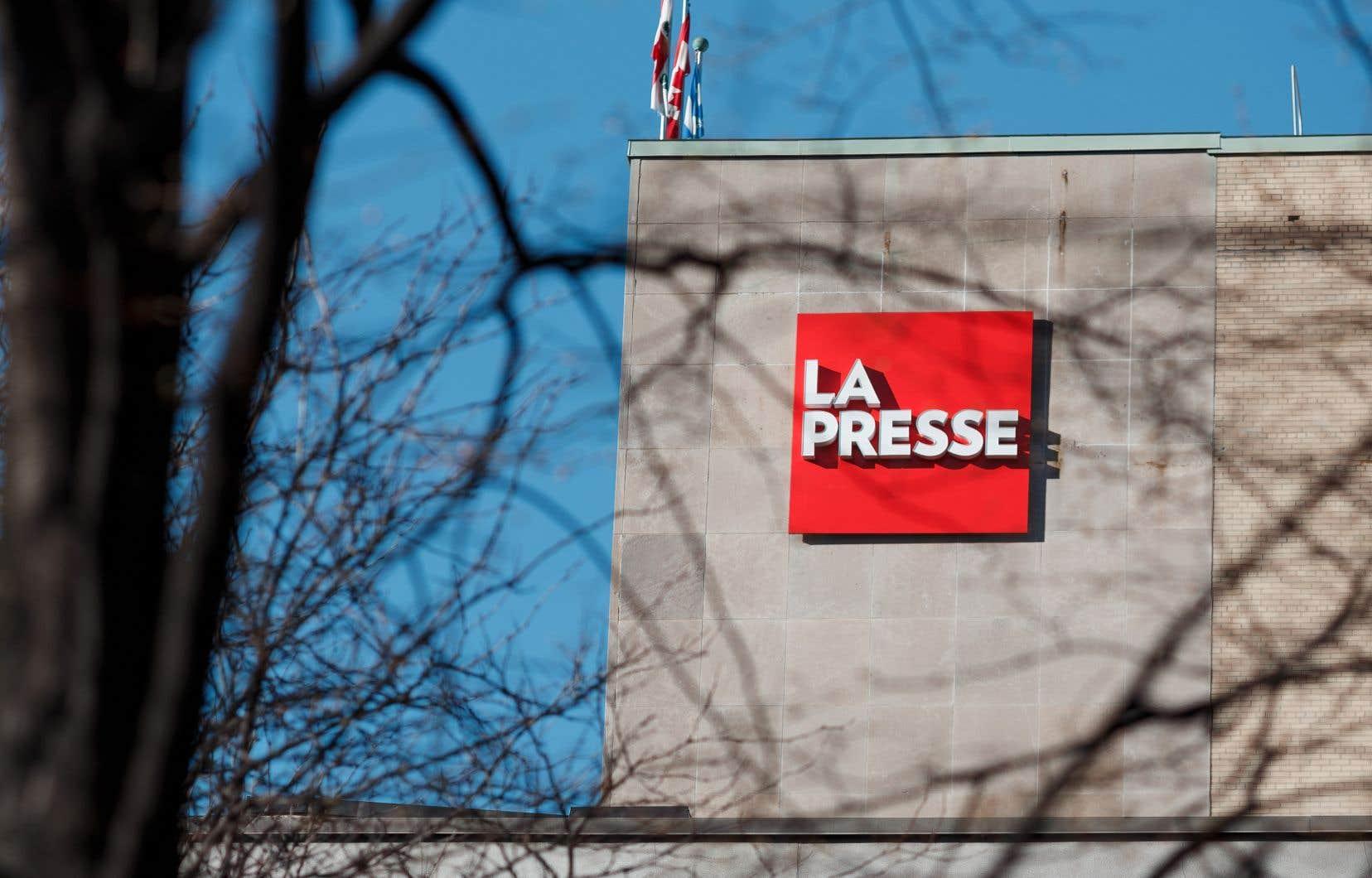 Les grands patrons de «La Presse» ainsi que les chefs syndicaux ont rencontré une dizaine d'élus de toutes les formations politiques mardi matin.