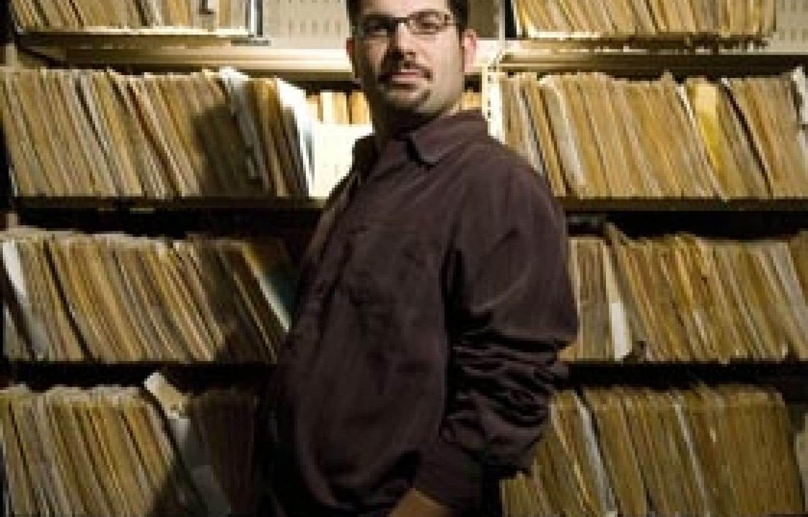 Olivier Kemeid, directeur artistique d'Espace libre et metteur en scène de l'Énéide.