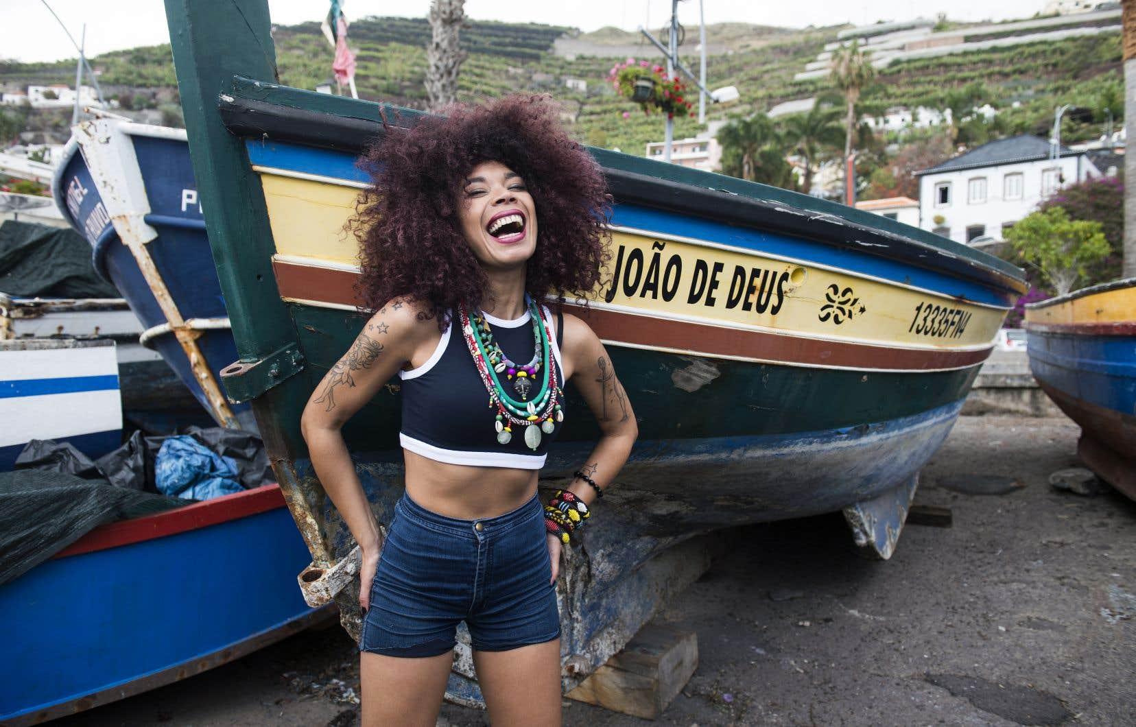 La chanteuse Flavia Coelho sera sur la scène du Festival international Nuits d'Afrique cet été.