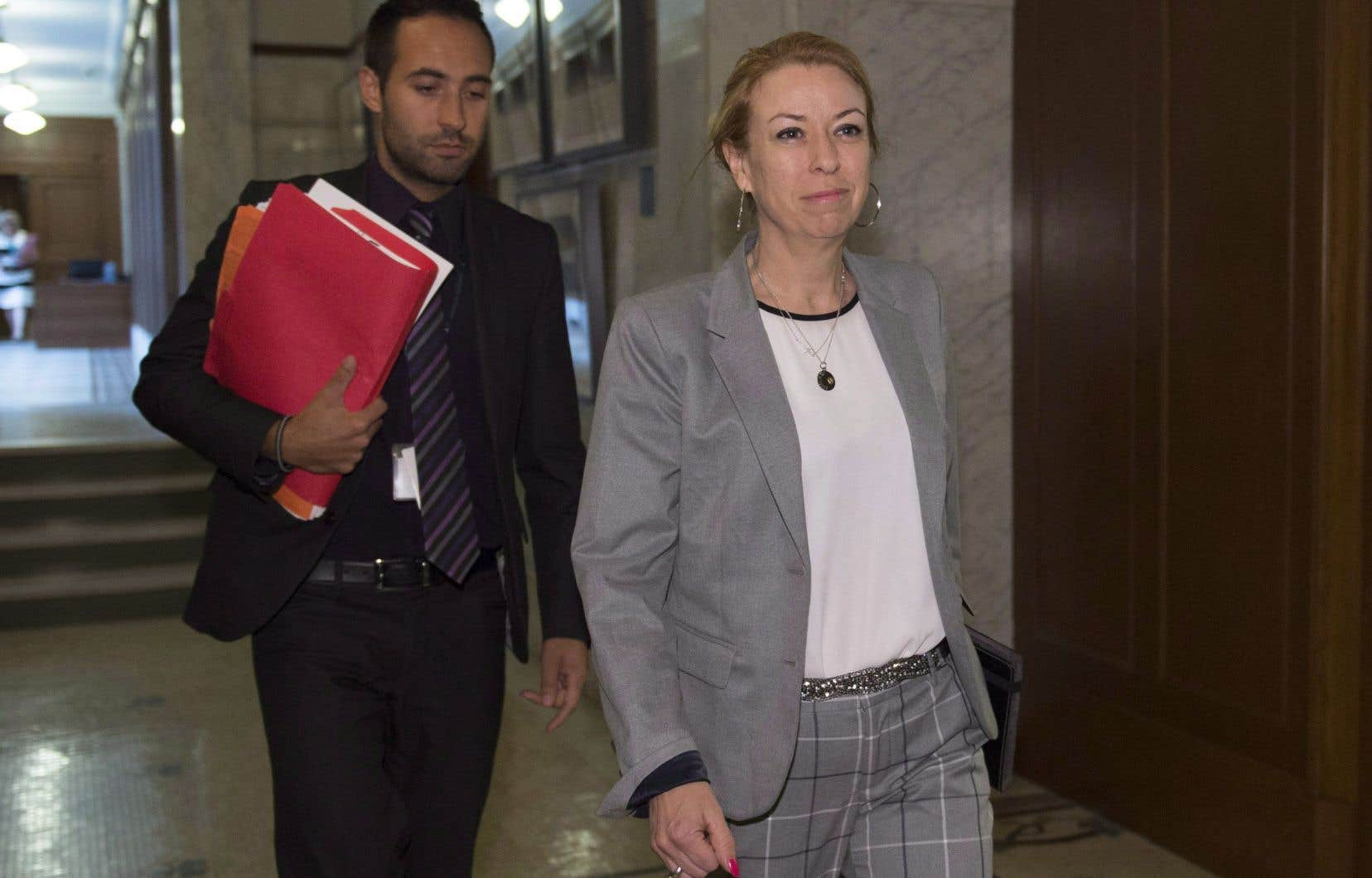 La ministre du Travail, Dominique Vien