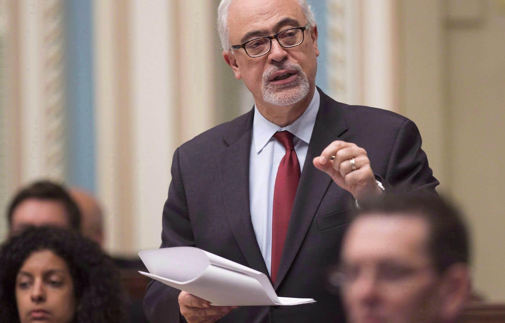 Le ministre des Finances, Carlos Leitão