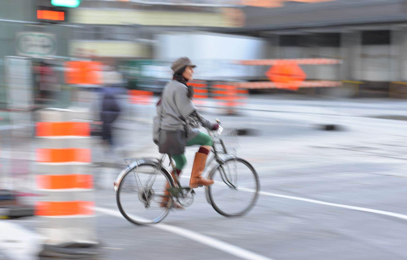 Projet Montréal milite depuis longtemps pour sécuriser l'avenue des Pins, jugée dangereuse par le milieu cycliste.
