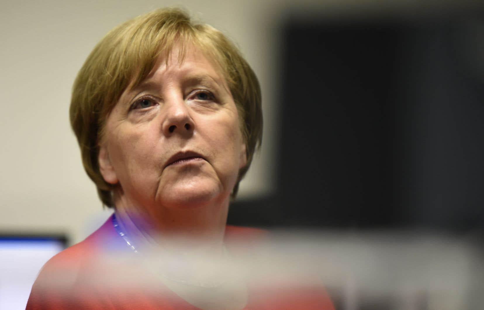 La chancelière allemande, Angela Merkel