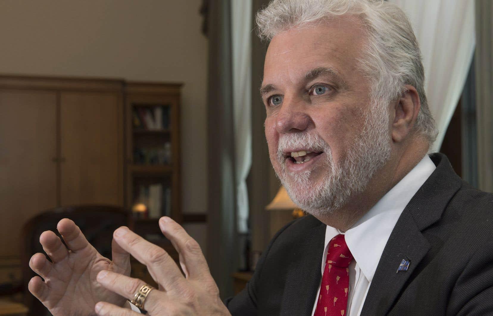 « C'est une mauvaise décision pour les Américains » a réagi le premier ministre du Québec, Philippe Couillard.
