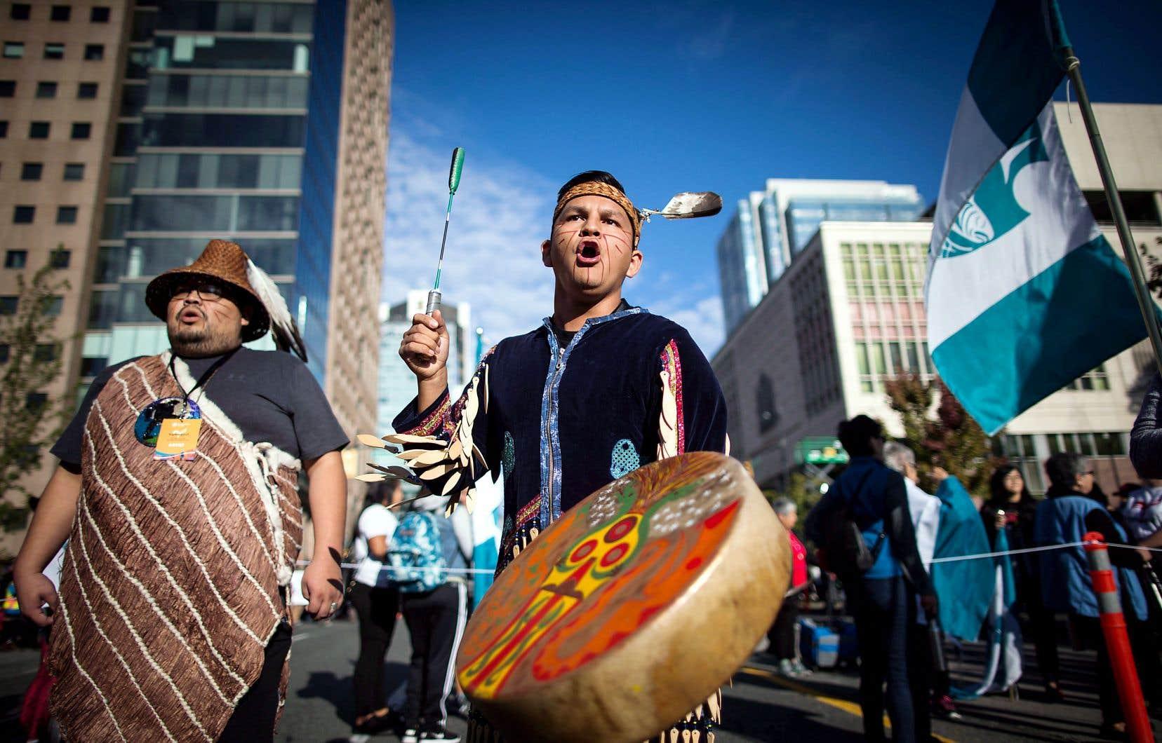 La marche de la réconciliation 2017 à Vancouver