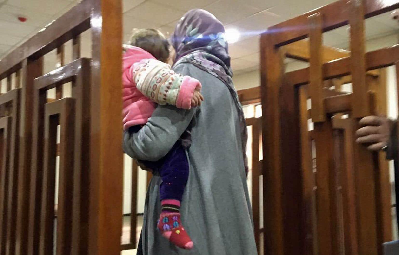 La Française Mélina Boughedir a été arrêtée durant l'été 2017 à Mossoul, en Irak.