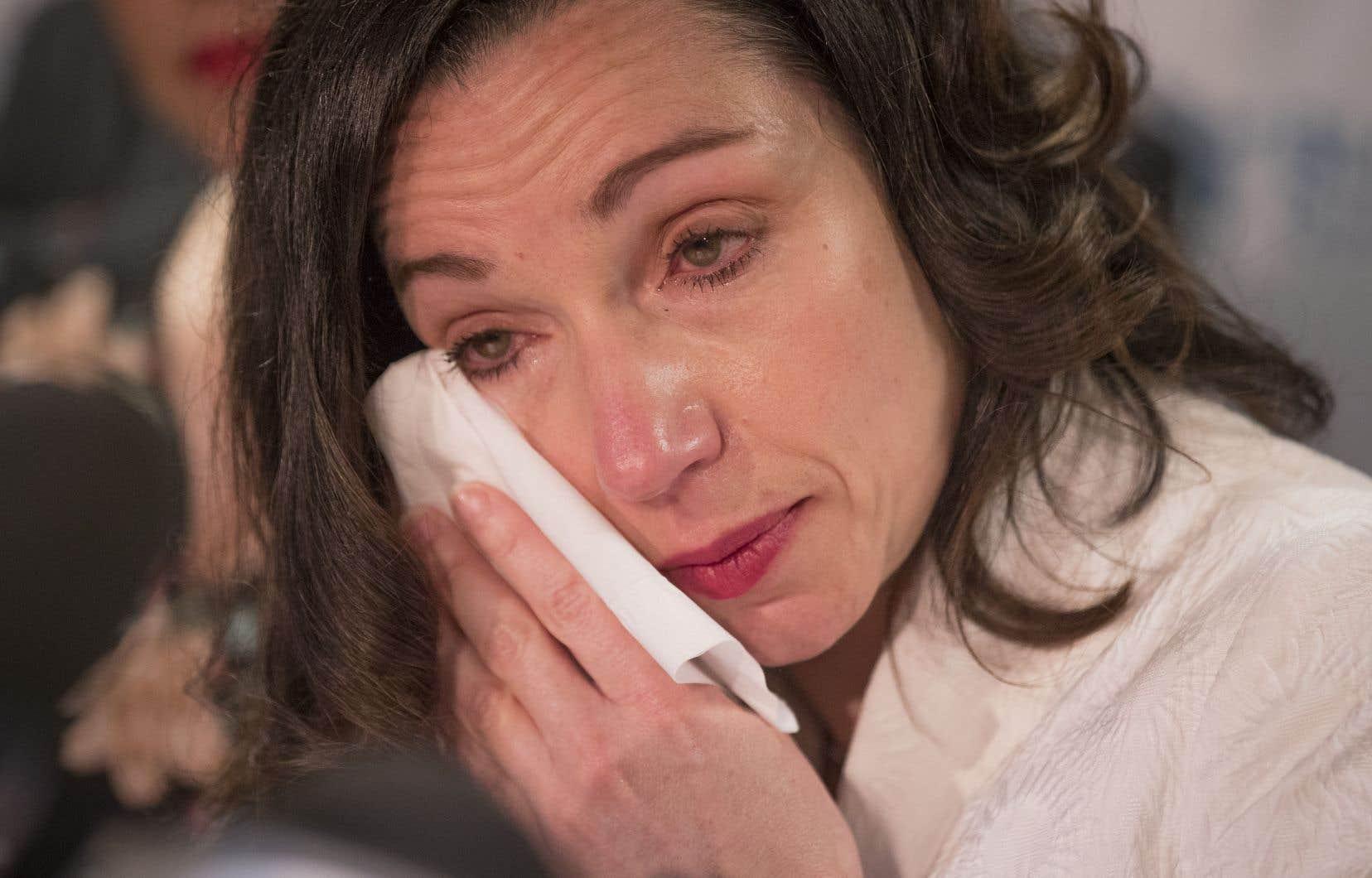 Martine Ouellet a perdu son vote de confiance, cette fin de semaine, en ne récoltant que 32% d'appuis des membres du Bloc.