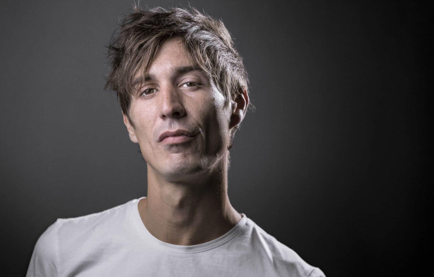 Le romancier français David Lopez