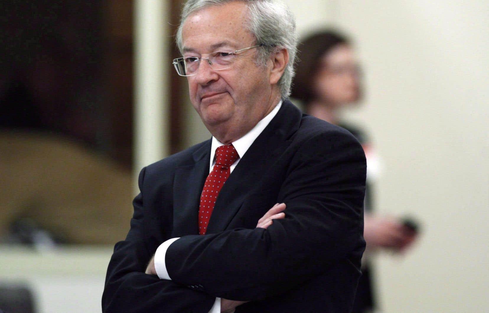 L'ancien directeur général des élections, Marc Mayrand