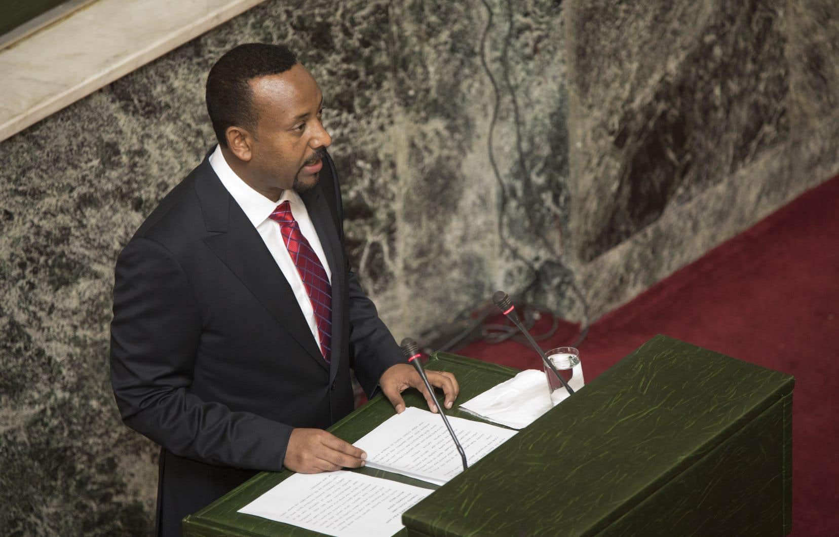 Abiy Ahmed, premier ministre de l'Éthiopie, lance de nombreuses réformes.