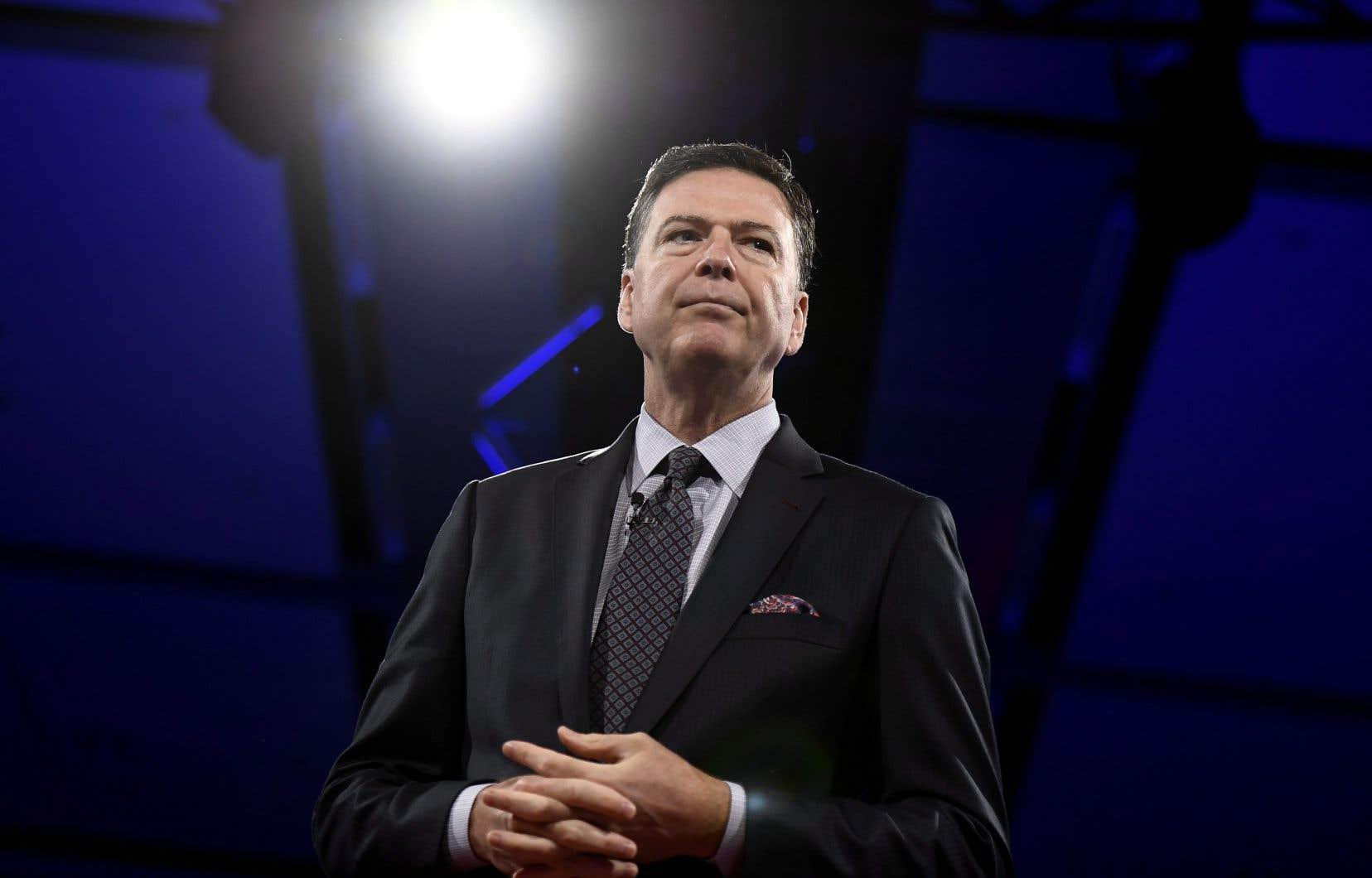 L'ancien directeur du FBI James Comey