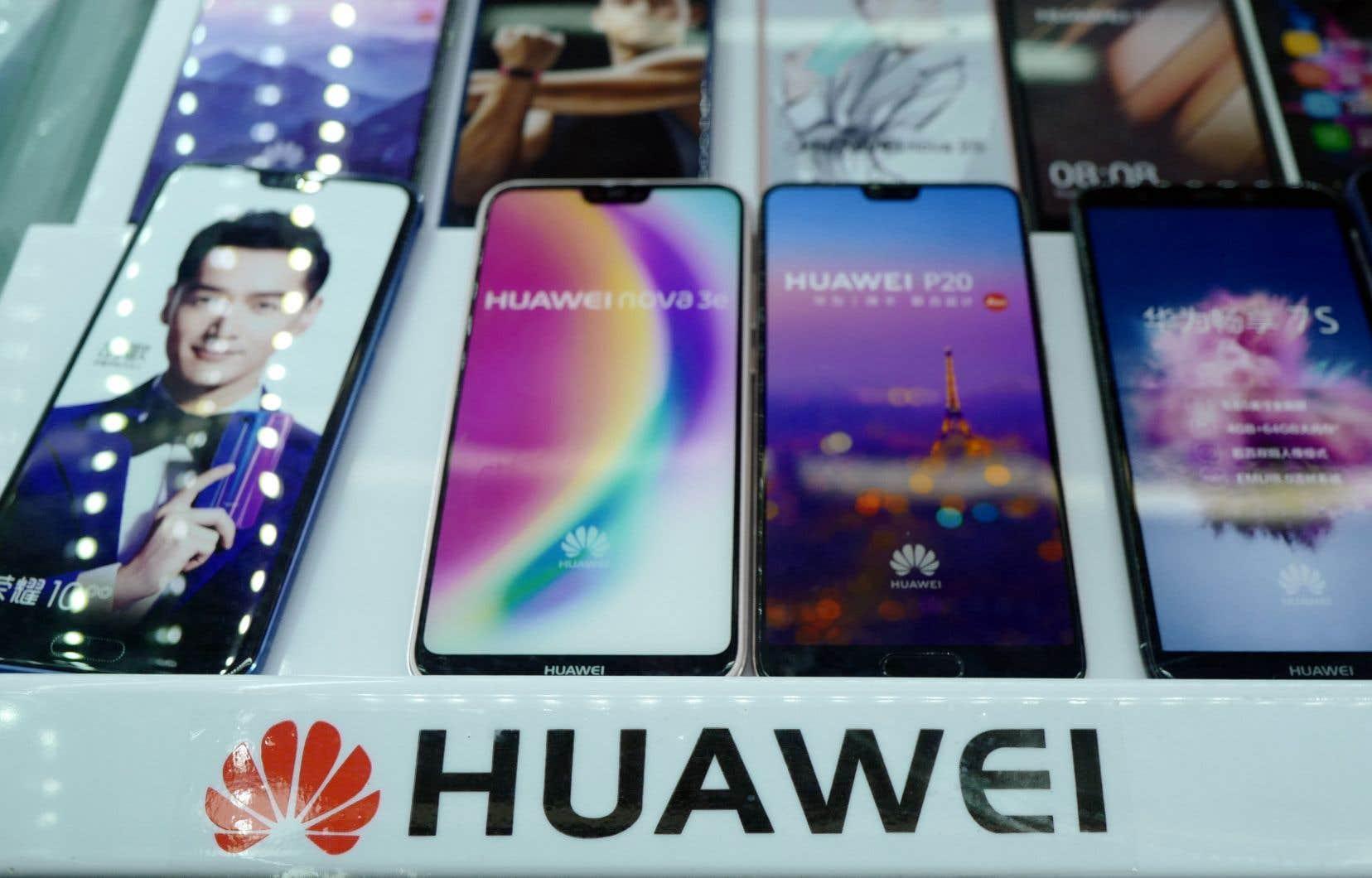 Huawei est accusée par les élus américains d'être un bras armé technologique de Pékin.