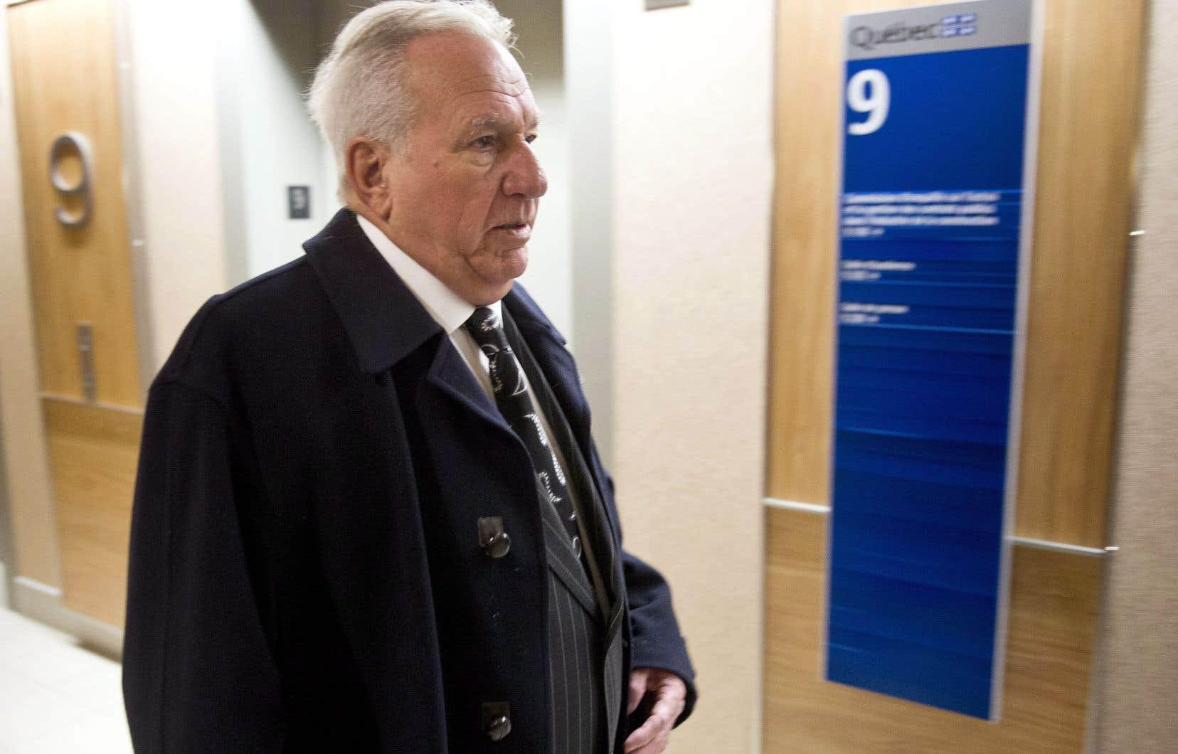 L'ancien collecteur de fonds d'Union Montréal, Bernard Trépanier, en 2013