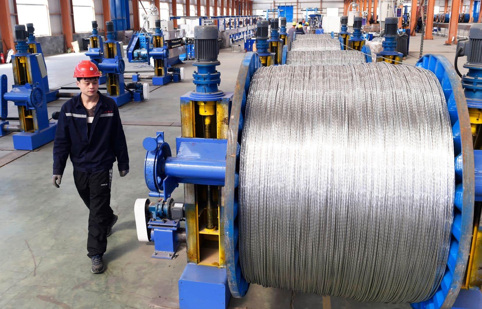 «La croissance continuelle des capacités de production de la Chine est très impressionnante et fait très peur», illustre Kathrine Fog.