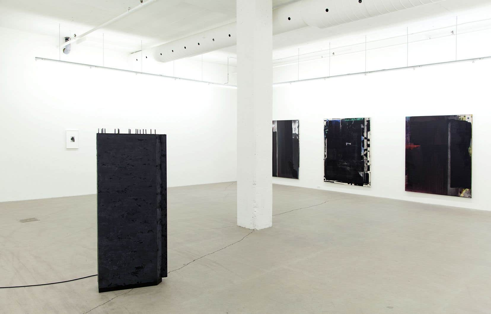 Vue d'installation, «Du côté de chez Soon», à la galerie René Blouin