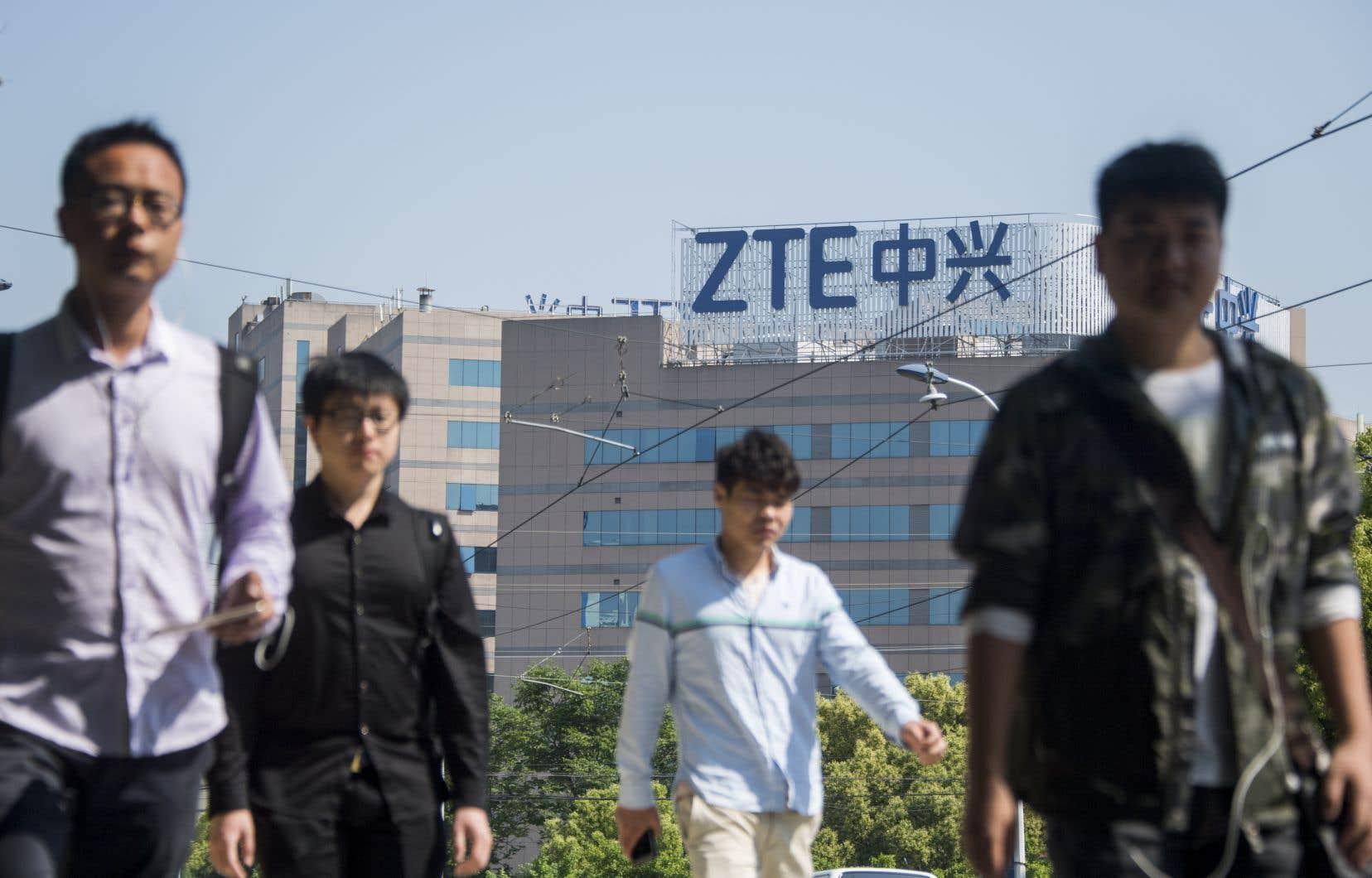 Le dossier ZTE empoisonne depuis des semaines les relations entre la Chine et les États-Unis.