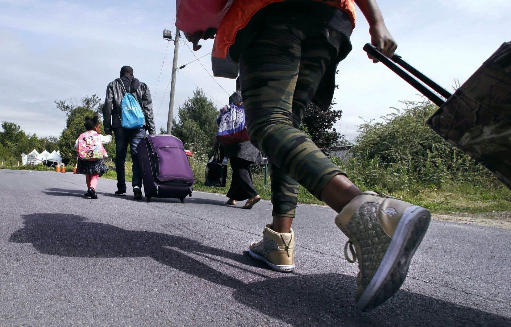 Entre le 1erjanvier 2017 et le 31mars 2018,plus de 5000 demandeurs d'asile ont voulu traverser la frontière hors des postes frontaliers.