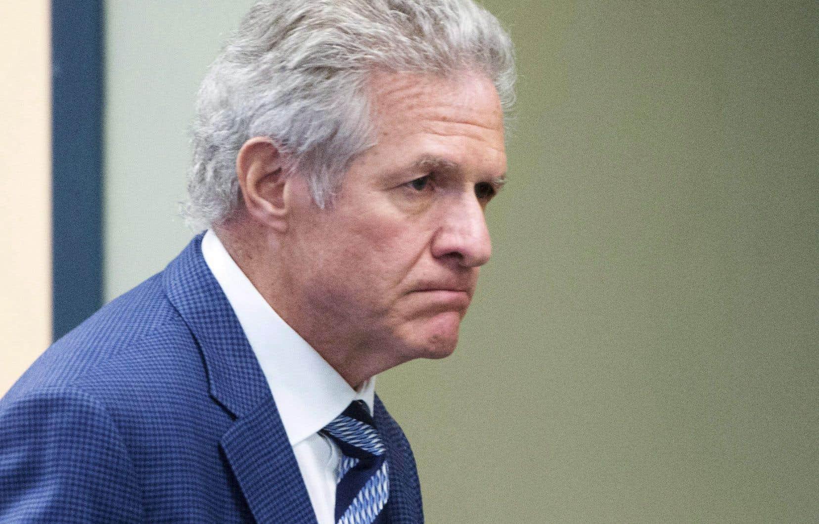 Tony Accursofait face à des accusations de fraude, de corruption d'un fonctionnaire, d'abus de confiance et de complot dans le cadre d'un système de partage de contrats et de ristournes au parti de Gilles Vaillancourt.