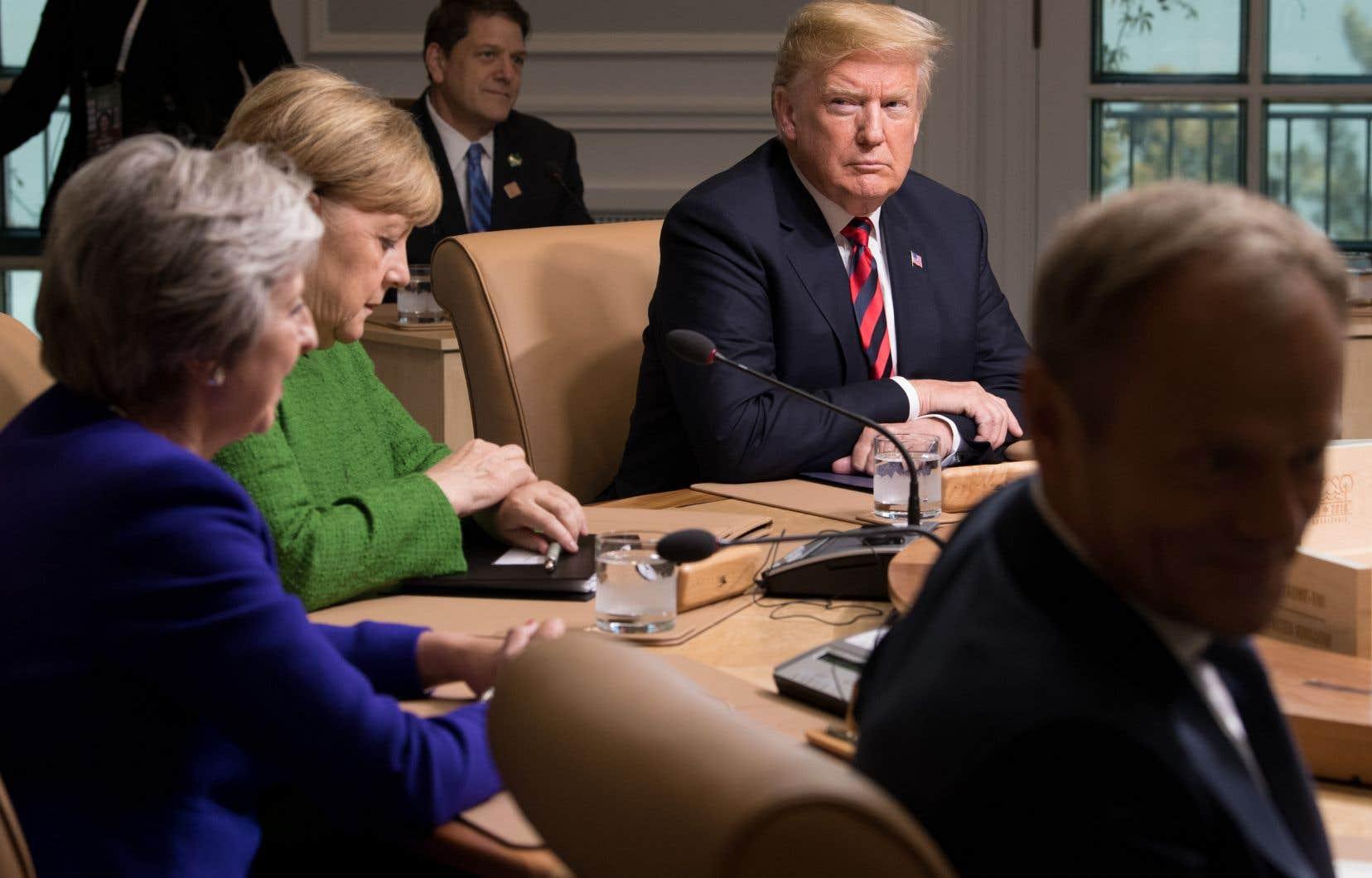 Avant même d'avoir posé le pied au Québec, le président américain, Donald Trump, a promis d'aller dire à ses homologues du G7 leurs quatre vérités sur leurs politiques commerciales injustes à l'égard de son pays.