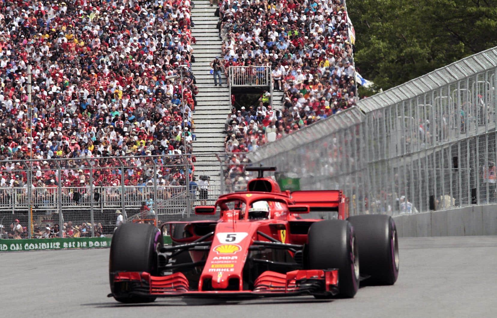 Sebastian Vettel a dit comprendre que des amateurs aient pu trouver que la course de dimanche manquait un peu d'action.