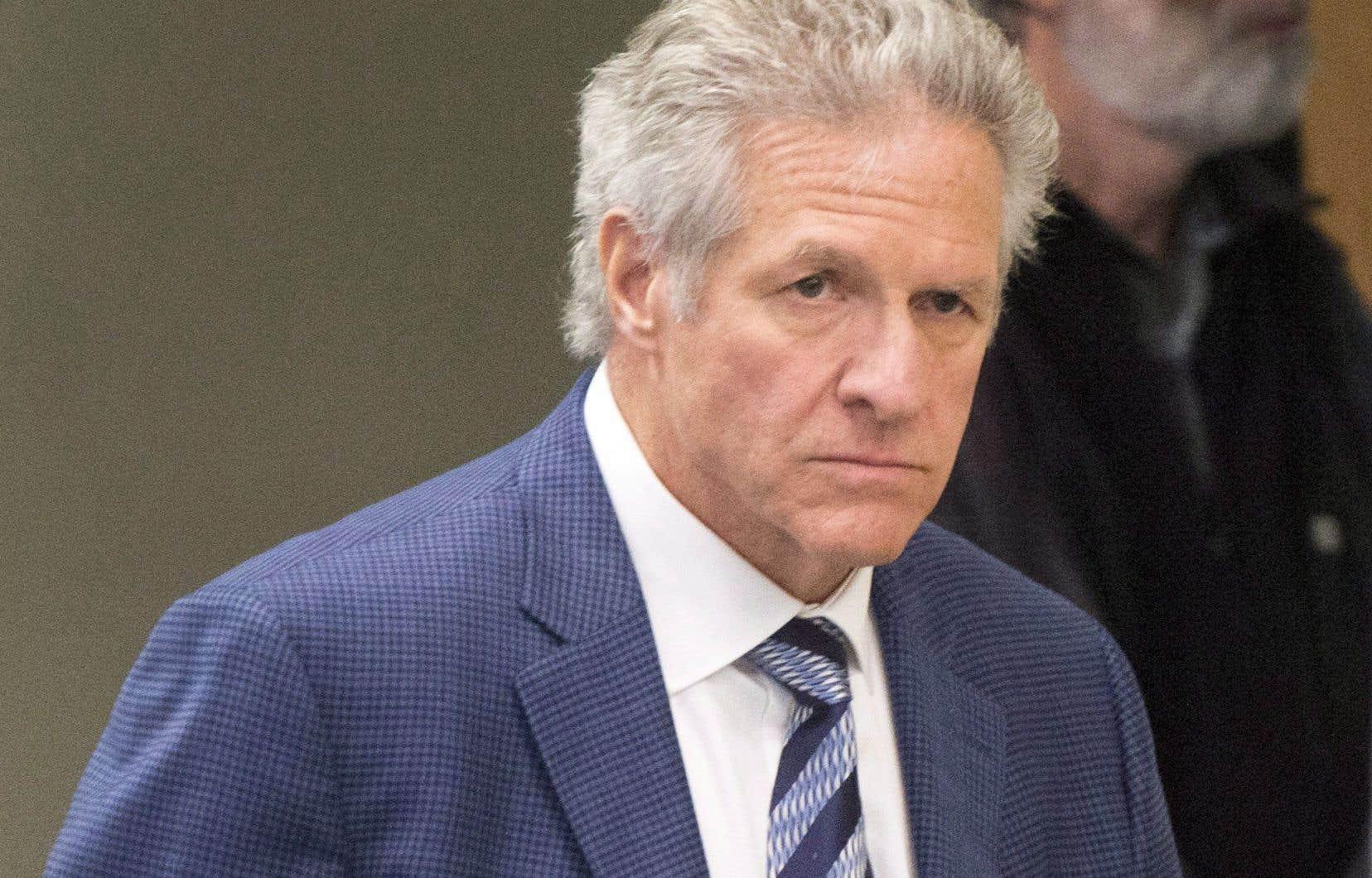 L'ex-entrepreneur en construction Tony Accurso, au palais de justice de Laval