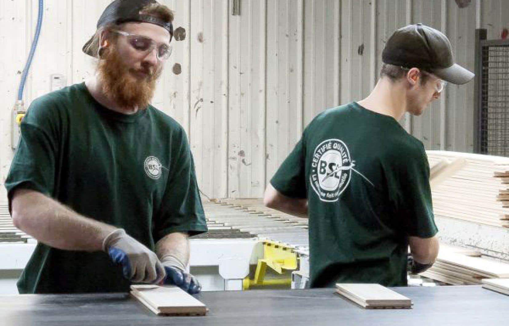 Bois BSL est une entreprise qui a été soutenue par le Fonds.