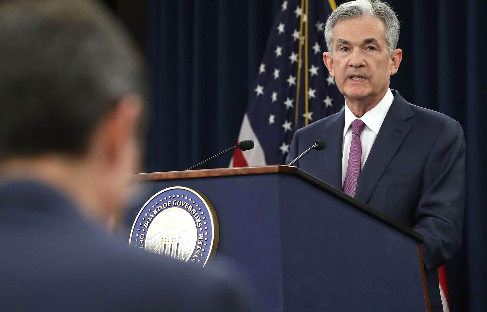 Jerome Powell, président de la Fed