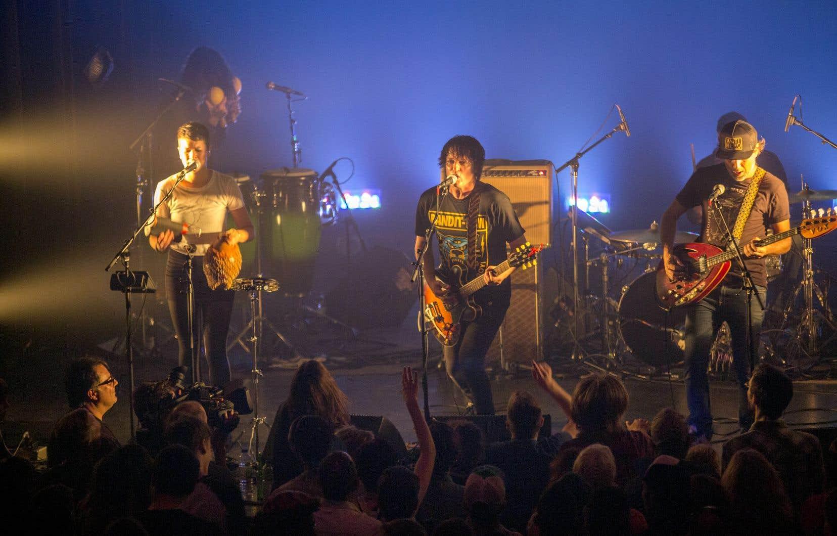 Le groupe Galaxie aux Francofolies de Montreal de 2015