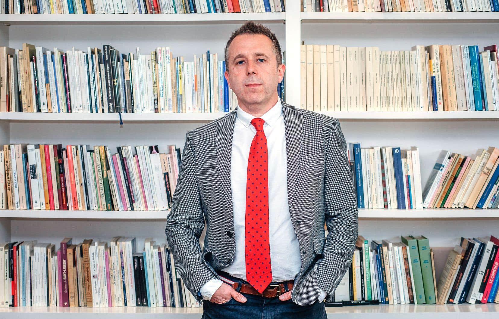 Laurent Dubois est catégorique: «Nous sommes là pour faire la promotion de la littérature. On n'est pas un club d'activités.»