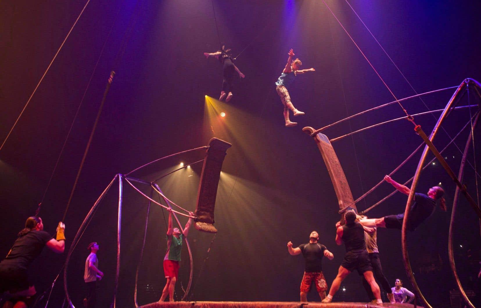 Les centres offriront des activités acrobatiques et artistiques inspirées du Cirque du Soleil.