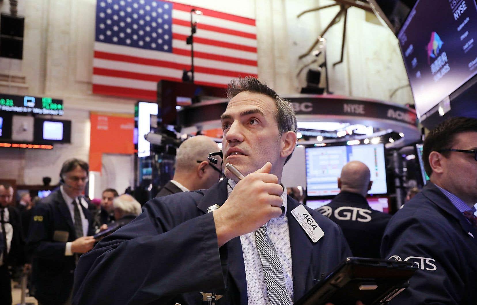 Bien que l'économie américaine soit en «excellente condition» selon le président de la Réserve fédérale, des entreprises commencent à retenir leurs investissements par crainte d'une guerre commerciale.