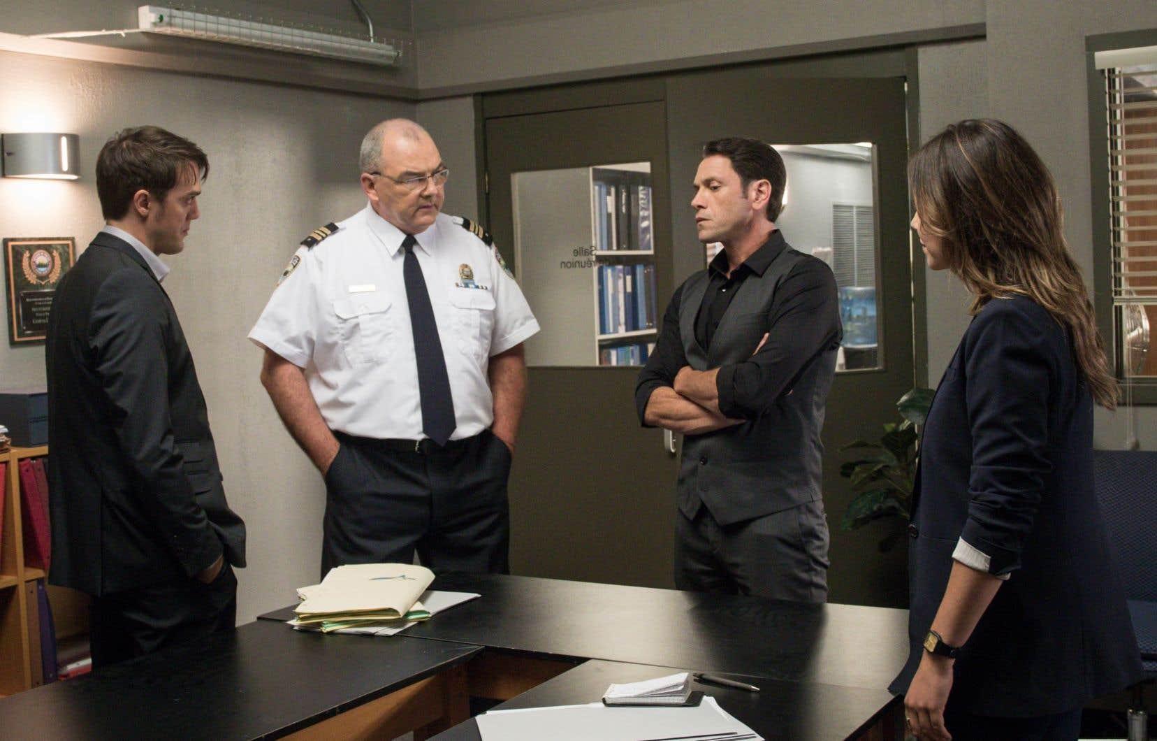 «District 31» pourrait être sacrée meilleure série annuelle et voir quatre de ses acteurs remporter la mise.
