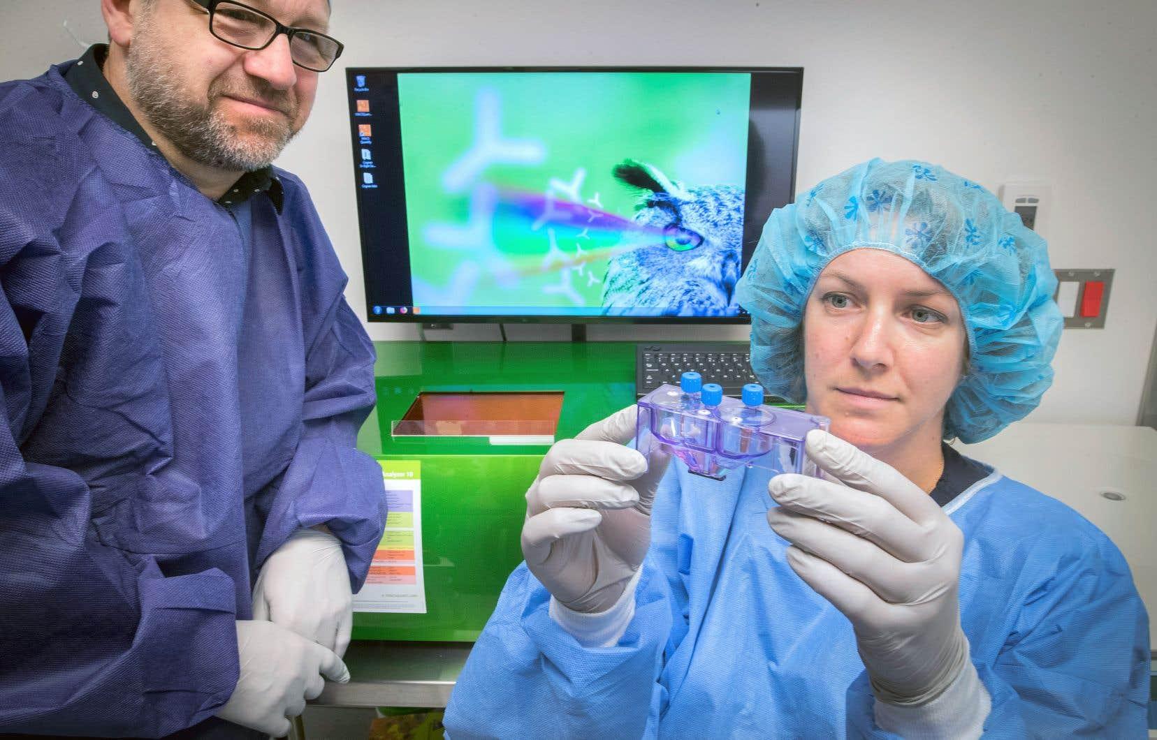 Le Centre de recherche du CHUM annonçait le lancement d'une étude clinique visant à éprouver une nouvelle technique d'immunothérapie cellulaire faisant appel à un appareil appelé «trieur cellulaire», qui sélectionne les lymphocytes T les mieux armés pour combattre les tumeurs cancéreuses.