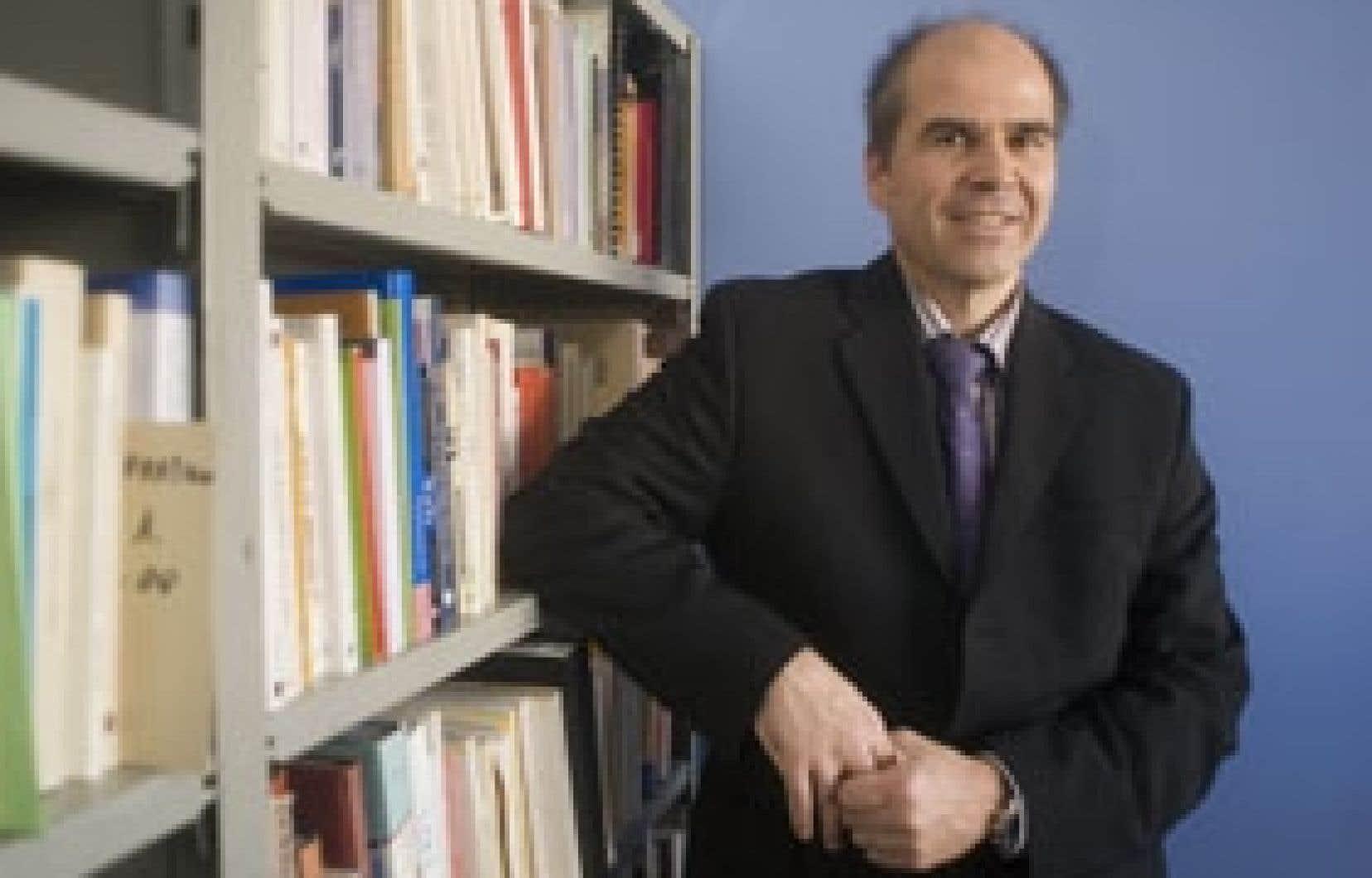 Olivier Bauer, professeur à la faculté de théologie et des sciences des religions de l'UdeM